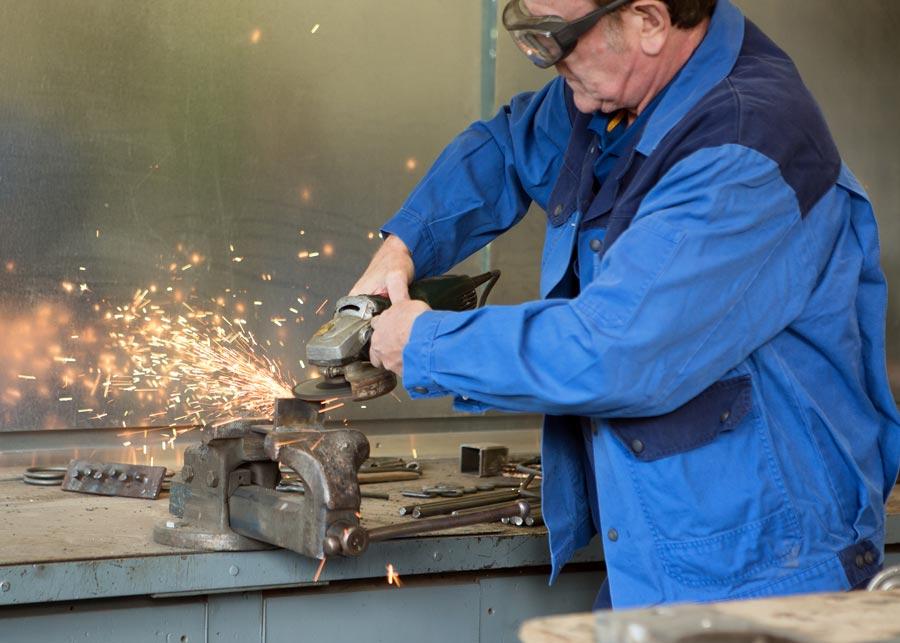 Herstellung von Metallkonstruktionen